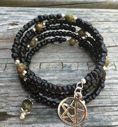 Earth Element Bracelet by UnforgivingNyx on Etsy https://www.etsy.com/listing/278740724/earth-element-bracelet