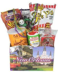 Spirit of New Orleans Gift Basket by Cajun Creations, http://www.amazon.com/dp/B006KY9W1I/ref=cm_sw_r_pi_dp_VxCxqb12MY2P3