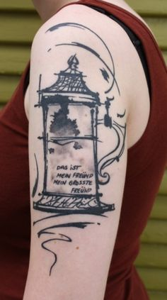Interesting story behind this one; work by Chris Valkov at Historic Tattoo Society in Portland, OR Historical Tattoos, Portland Tattoo, German Beer Steins, Different Kinds Of Art, Get A Tattoo, Tattoo Art, Pretty Tattoos, Body Modifications, Body Mods