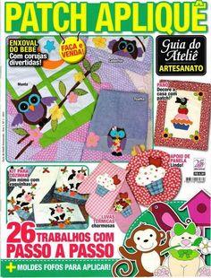 Revistas de manualidades Gratis: Revista patchwork                                                                                                                                                                                 Más