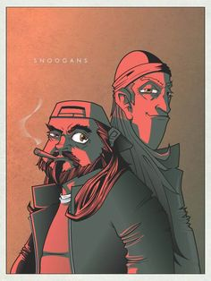 Daily Illustration by Adam Thompson - Jay & Silent Bob Comic Book Heroes, Comic Books Art, Comic Art, Adam Thompson, Silent Bob, Minimalist Artwork, Great Films, Film Music Books, Geek Art