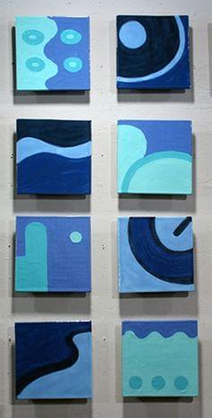 "VALUE ""Mediterranean"" by Jason Messinger - 8 8""x8"" cermamic tile tile mural; dimensions variable; 8 8""x8"" tiles"