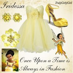 Disney Style: Iridessa, created by trulygirlygirl
