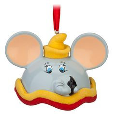Dumbo Ear Hat Ornament | Ornaments | Disney Store - Item No. 7509002522692P, $16.95, Limited Edition of 3000