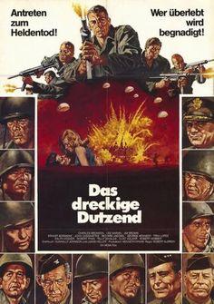 The Dirty Dozen (German) 11x17 Movie Poster (1967)