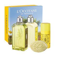 Este Kit contiene:  * Gel de Ducha Verbena 250 ml * Loción Corporal Verbena Cítrica 250 ml * Desodorante Stick Verbena Cítrica * Jabón Hojas de Verbe