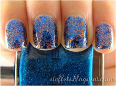 Blue & Copper!