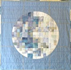 moon quilt - wow!!! Could do it to match the moon of your birth date?!?!?!