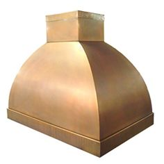custom copper range hood Texas Lightsmith Model #12, B