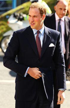 Prince William Short Straight Cut