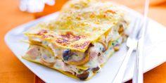 easy lasagna recipe with ricotta lasagne Pasta Recipes, Chicken Recipes, Cooking Recipes, Lasagna Recipes, Cooking Ribs, Cooking Games, Food Porn, Italian Dinner Recipes, Cooking Courses