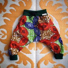 New 'Mama Africa' - African Wax Print Handmade Harem Pants - Boys + Girls by ChangNoii on Etsy