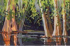 1250-Florida_Landscape_Painting_Santa_Fe_Cypress.jpg (500×327)