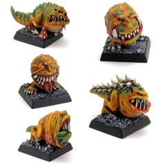 I love squigs!... http://www.warseer.com/forums/showthread.php?253140-Only-Gobbos!-(and-some-undead-and-maybe-something-else)/page5