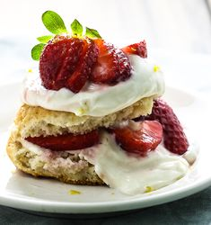 Take your spring strawberry recipes from good to great with lemon curd. Try it in this Gluten Free Strawberry Shortcake recipe.