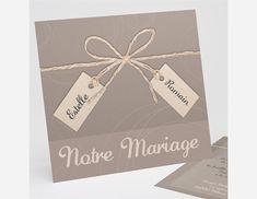 Faire-part mariage réf.N31145