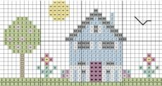 FREE summer house download chart!