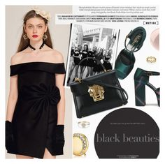 """Little Black Dress"" by metisu-fashion ❤ liked on Polyvore featuring Mulberry, Magdalena, Dolce&Gabbana, Estée Lauder, Soap & Glory, LBD, polyvoreeditorial, polyvoreset and metisu"