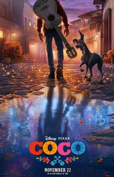 First Full-Length Trailer For Disney-Pixar's 'Coco' Is Here! First Full-Length Trailer For Disney-Pixar's 'Coco' Is Here! Disney Pixar Coco, Film Disney, Disney And Dreamworks, Disney Fan, Disney Movie Posters, Disney Pixar Movies, Benjamin Bratt, Hd Movies, Movies To Watch