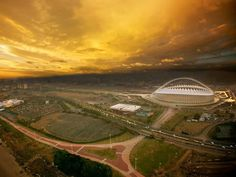 Amazing view of Durban with The Moses Mabhida Stadium, South Africa (Photo by: Kierran Allen) Great Places, Places To See, Beautiful Places, Travel Box, Cool Photos, Amazing Photos, Africa Travel, Far Away, Continents