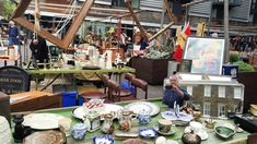 Following the redevelopment of Bermondsey Square the ancient antiques market – traditionally good for china and silver as well as furniture and glassware
