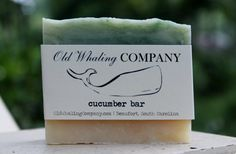 Cucumber Bar  Organic Soap All Natural Soap by OldWhalingCompany, $5.99