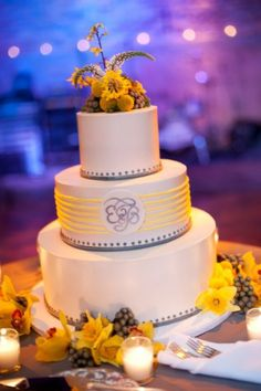 3 tier stunning ivory Custom Cakes Gallery - Wedding Cakes - TipsyCake Chicago