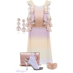 """""""Ombre"""" by sherryvl on Polyvore"""