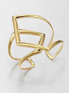 Alexis Bittar - Overlapping Cuff Bracelet - Saks.com