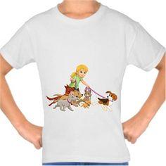 Dora ve Arkadaşları - Köpekler Kendin Tasarla - Çocuk Tişört