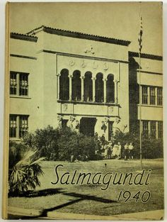 1940 SEMINOLE HIGH SCHOOL Sanford Florida Original Yearbook Annual Salmagundi