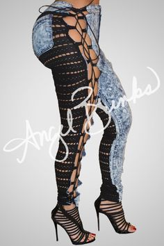 We have Sinister jeans for every style and taste. If you are bold like we are these are made for you. Every pair has a unique type of lace! The jeans are made t