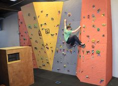 Parkour Vision - Seattle, by Elevate Climbing Walls