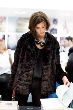 wear fake fur
