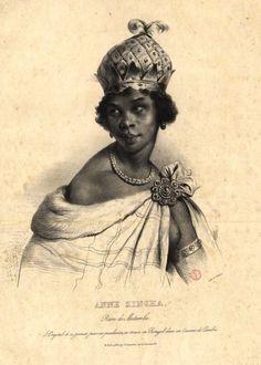 Ana Nzinga Mbande, fearless African queen.