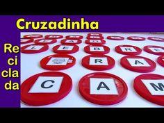 CRUZADINHA RECICLADA - Formação de Palavras - YouTube