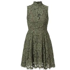 Keepsake Green Porcelain Lace Dress (2.335 RUB) ❤ liked on Polyvore featuring dresses, green cocktail dress, lacy dress, lace dress, lace cocktail dresses and green color dress