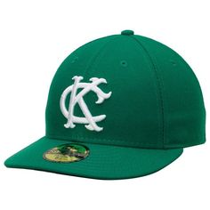 best authentic c37d4 5b709 Kansas City Athletics New Era 1965 Authentic Collection Turn Back the Clock  59FIFTY Fitted Hat - Kelly Green