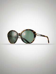 Rounded Cat Eye Sunglasses - Ralph Lauren Sunglasses - RalphLauren.com