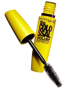 MAYBELLINE COLOSSAL VOLUM'EXPRESS MASCARA, $7.47: The giant brush and collagen-boosted formula plump lashes to falsie-worthy fullness. Buy it now!   - MarieClaire.com