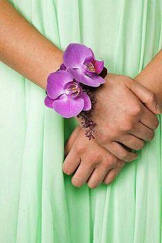 Purple Phalaenopsis Orchids Corsage~~~~
