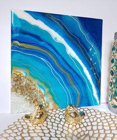 Epoxidový obraz v ukľudňujúcich modro-tyrkysových farbách. Na predaj. Rozmer je 32*32 cm  For sale 🤩epoxy painting in blue and turquoise…  #resinart#artresin#geoda#obraz#obrazy#obrazynaobjednavku#styloveobrazy#homedecor#decorhome#picture#интерьерныекартины#kupitobraz#europa#epoxidovazivica#epoxyart#epoxidoveobrazy#эпоксиднаясмола#epoxiart#slovakia#geode#geodeart#resin8#bilder#interiobilder#modernekunstbilder#resinpro#geodart#just4youonlineuk#art_семья_vg#interier Resin Art, Turquoise, Canvas, Pictures, Blue, Painting, Home Decor, Tela, Photos