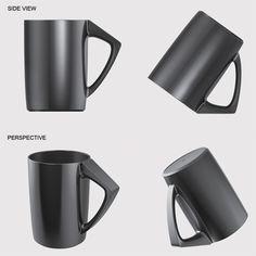 好貼心的杯子~好棒的設計~  洗完杯子晾乾時,就不怕杯口朝上積灰塵,也不怕杯口放在檯面上,不乾淨~  簡單又好的設計!