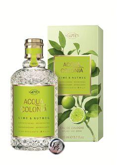4711 Acqua Colonia Lime & Nutmeg (2015) {New Perfume}