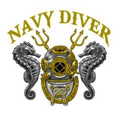 Navy Diver Master Diver Tattoo, Diver Down, Deep Sea Diver, Dark Souls Art, Diving Helmet, Scuba Diving Equipment, Soul Art, Badge Design, Underwater
