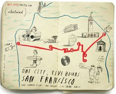 One City, Five Hours: An Illustrated Off-beat Guide to Layovers