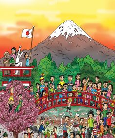 www.findthecutes.com #Japan #Japancartoons #Japanesechildren #Japanesekids #Childrensbooks #Kidsbooks #Lookandfind #Seekandfind