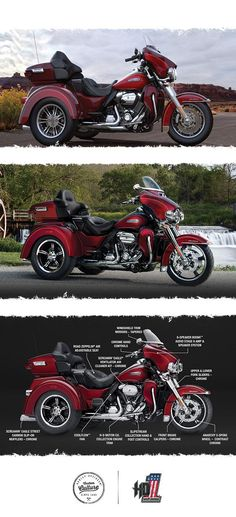 How much motorcycle can you fit on three wheels? One look and you'll have your answer.   2017 Harley-Davidson Tri Glide Ultra
