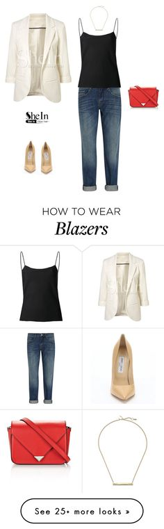 """""""Untitled #90"""" by crimsonlipsandshades on Polyvore featuring dVb Victoria Beckham, The Row, Jimmy Choo, Alexander Wang and Giles & Brother"""