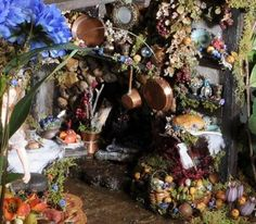 Awesome fairy house interior on